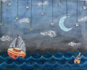 Boats and Birds By Gregory and the Hawk Artwork